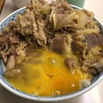 85725444 - 2018.4.15  牛丼大盛 玉子投入