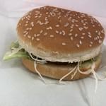 コナンの家 パン工房 - 料理写真:ハンバーガー