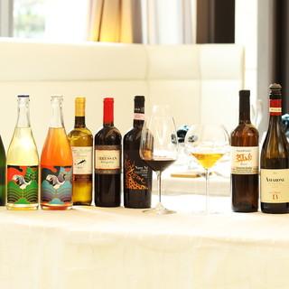 ワインのペアリングコース