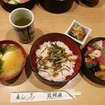 三河屋 - ちらし寿司ランチ