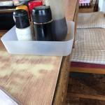 <民宿>しをみ食堂 - テーブルセット