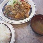 キッチンABC - ロース生姜焼き定食