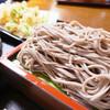 いたや - 料理写真:もりそば&ふきのとう天ぷら