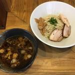 85730473 - 「柿酢つけ麺 しょうゆ(麺一玉)」850円