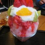 七海 - ふわふわいちごに日替わりフルーツ添え