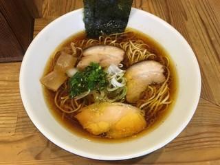 麺屋KABOちゃん - 「しもふり中華そば」750円