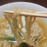 手打ち麺 やす田 - 麺リフト