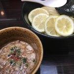 四ツ谷麺処スージーハウス - レモンつけ麺 中盛