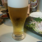 喜美松 - 生ビール(小)(360円)