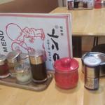 ラーメン コント - テーブルセット