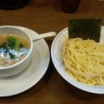 ら~めん曳舟 - 鶏しょうゆつけ麺(850円)