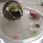パパゲーノ - 料理写真:栄螺の前菜(r1)