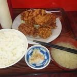 盛岡食堂 - 唐揚げ定食780円