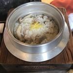 福わ家 - 鳥柚子胡椒釜ご飯