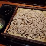 嵯峨谷 - もりそば(320円)