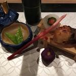 日本料理 花月 - 手の込んだ前菜