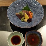 日本料理 花月 - お醤油と特製ポン酢