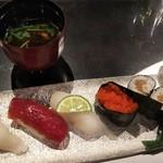 日本料理 花月 - お寿司はうれしい 干瓢が美味しかった