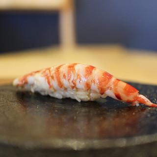 すし処 睦月 - 料理写真:車海老☆