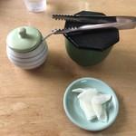 黒豚ラーメン蔵 - 漬物