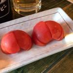 85747918 - セットの冷しトマト