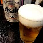 山形飛魚 亞呉屋 - 瓶ビール520円