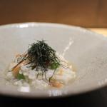 眞 - 桜海老 蛤 うすい豆☆