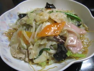 蘇州林 飲茶・ちゃんぽん店 - 皿うどん