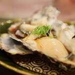 鮨 かの - 淡路産 牡蠣