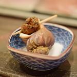 鮨 かの - 磯つぶ貝