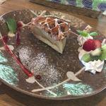 ダイゴ カフェ - 料理写真:りんご屋さんのアップルパイ(コーヒーセット)1050円