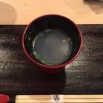 鮨 登喜和 - しじみ汁