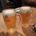 池三郎 - ビールです