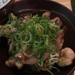 池三郎 - せせり塩焼き
