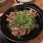 池三郎 - 黒豚軟骨炒め