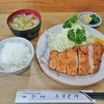 とんかつ とんき - 料理写真:とんかつ定食 1,317円