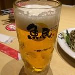 魚民 - 「キリン一番搾り 大ジョッキ」698円(税別)754円(税込)