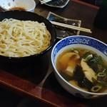 85758589 - 創作塩つけ麺-鰆と煮若布