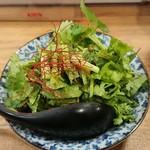 85760986 - 肉味噌パクチー豆腐