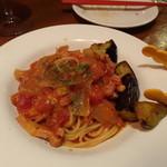 フレンチ小料理バル megane - シチリア風パスタ(961円)