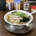 ついてる亭 - 料理写真:特濃煮干しラーメン
