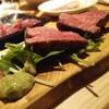 肉小屋 - 料理写真:塊肉黒毛和牛うちもも肉ハーフ100g1000円