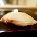 鮨みなと - [2018/04]寿司① いさき昆布締めの握り