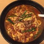 辛麺 一門 - 辛麺(7倍)800円+50円