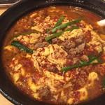 辛麺 一門 - 辛麺(7倍)、アップ