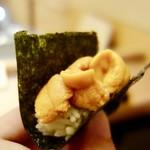 鮨みなと - [2018/04]寿司⑨ 日高産うにの手巻き