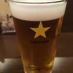 85765875 - エビス樽生ビール (450円)