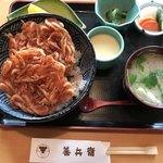 善兵衛新富士 - 料理写真:桜えびかき揚げ丼(1600円)