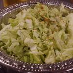 焼肉ケニヤ - キャベツ千切り ヨーグルトミントソース