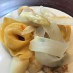 クリマ ディ トスカーナ - ムジェッロ風カペレッティ 仔うさぎ イタリア産白アスパラ